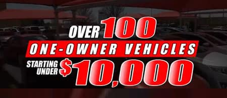 over 100 1-owner vehicles under $10,000
