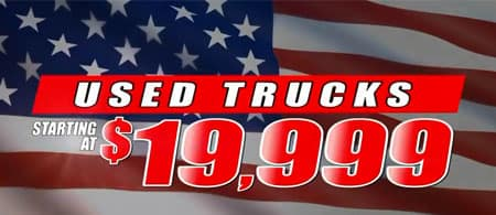 Trucks starting at $19999