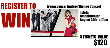 win tickets to see Lindsey