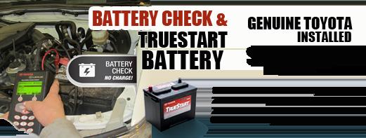 Battery Check & Truestart Battery