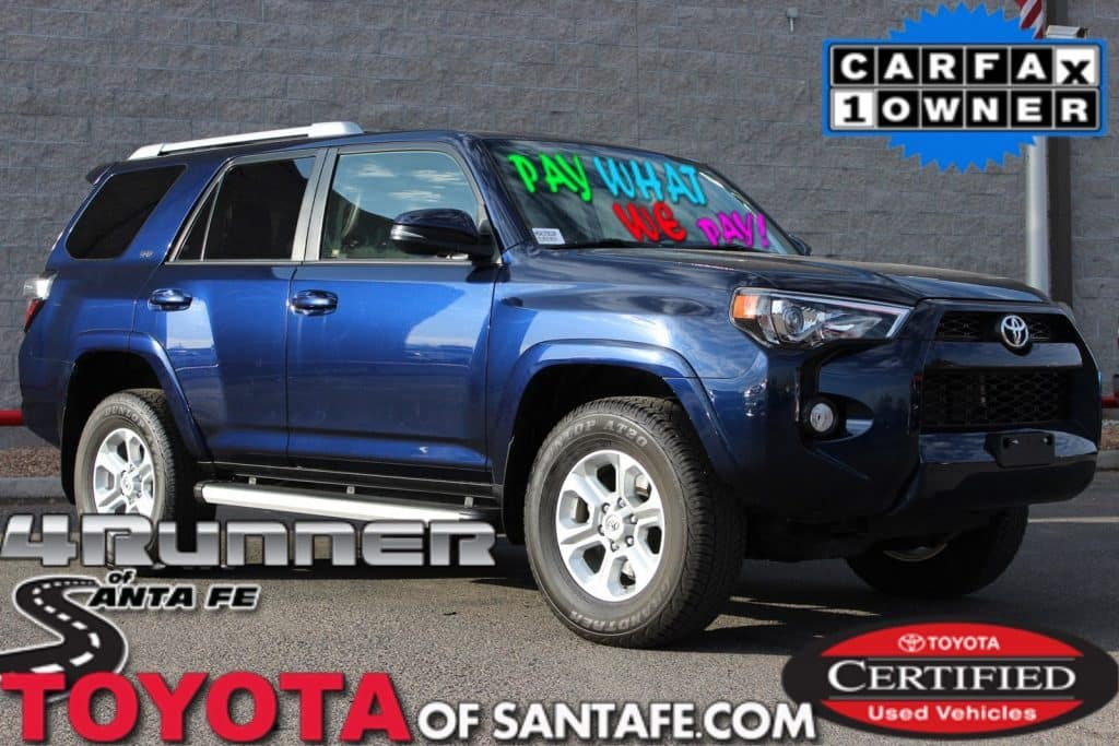 Certified Pre-Owned 2017 Toyota 4Runner SR5 Premium With Navigation & 4WD H5437603P