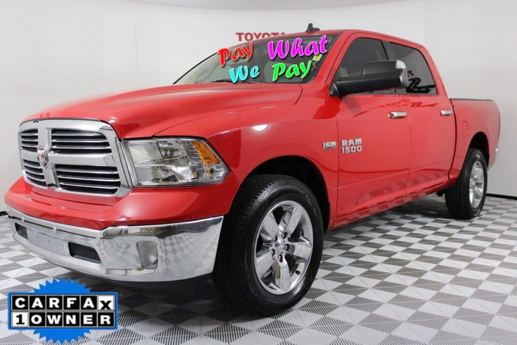 Pre-Owned 2016 Ram 1500 Big Horn 4WD GG201364P