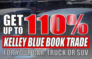 110% KBB for your car