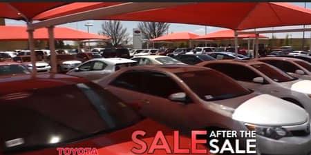 Sale after Sale trades