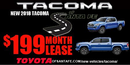 New Tacoma Starting  at 199/month
