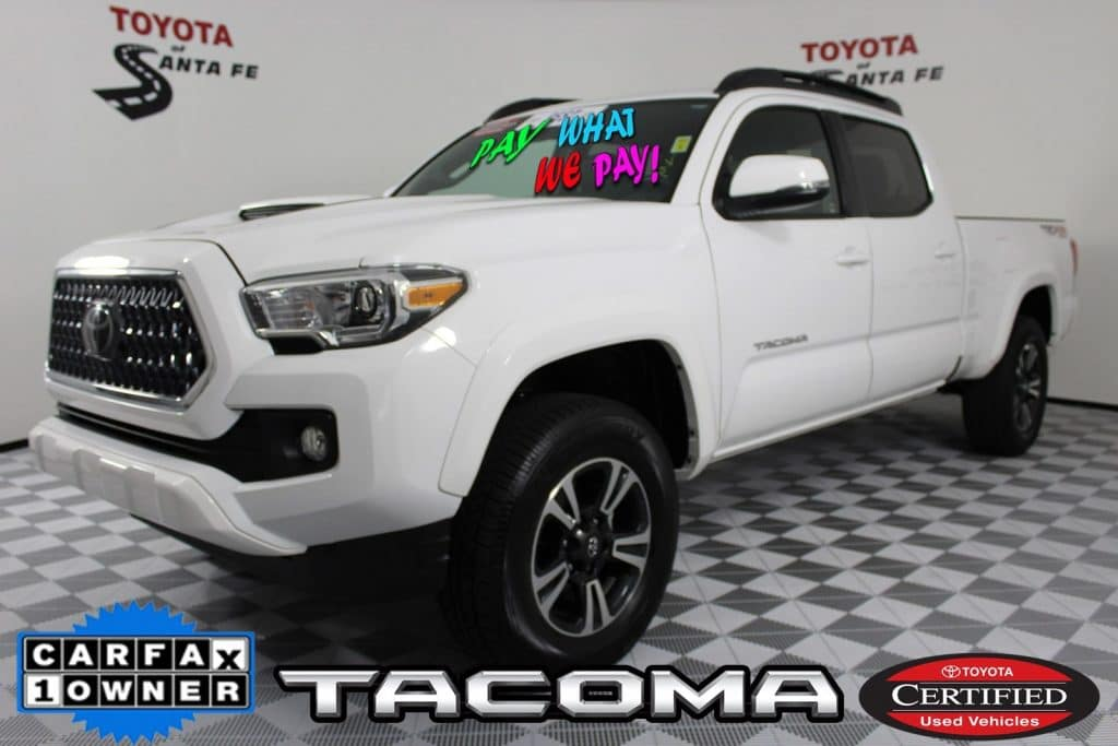 Certified Pre-Owned 2018 Toyota Tacoma TRD Sport With Navigation & 4WD JX037776P