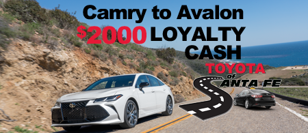 Camry to Avalon Special Offer