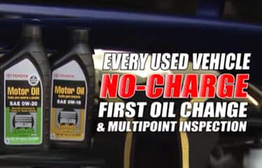 First Free Oil Change