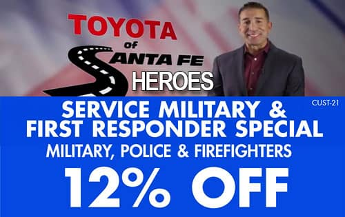 service, military first responders 12%