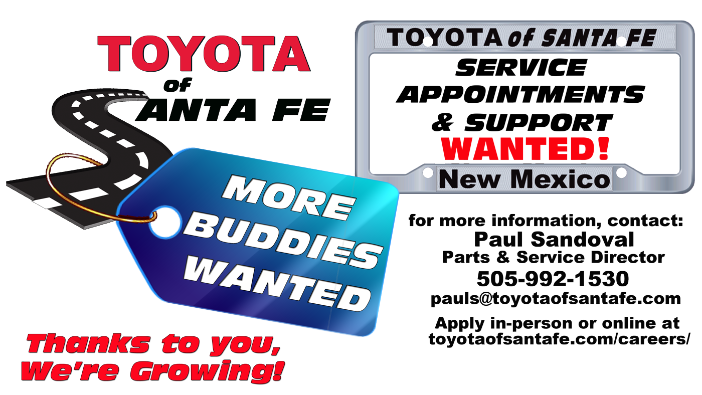 Toyota Service Appointment >> Service Appointments Support Toyota Of Santa Fe