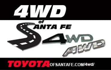 4wd or AWD of Santa Fe