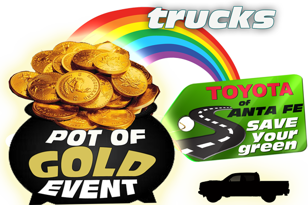 Pot of Gold Event TRUCKS