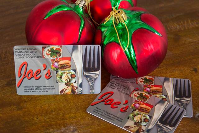 Joes Diner gift card
