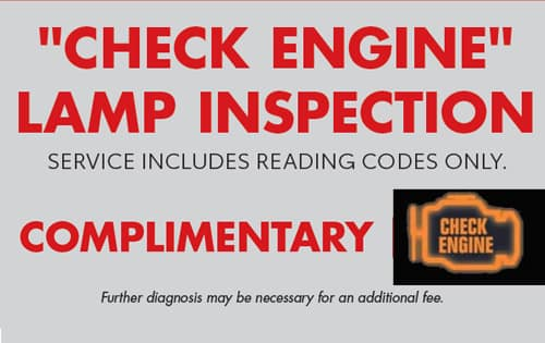 Check Engine Lamp Inspection