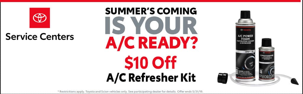 A/C Refresher Kit Special