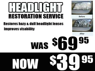 Headlight brightening