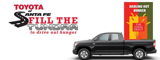 Fill the Tundra to drive out hunger