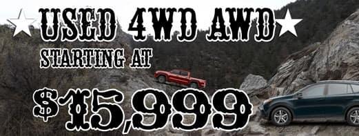 4wd awd $15999