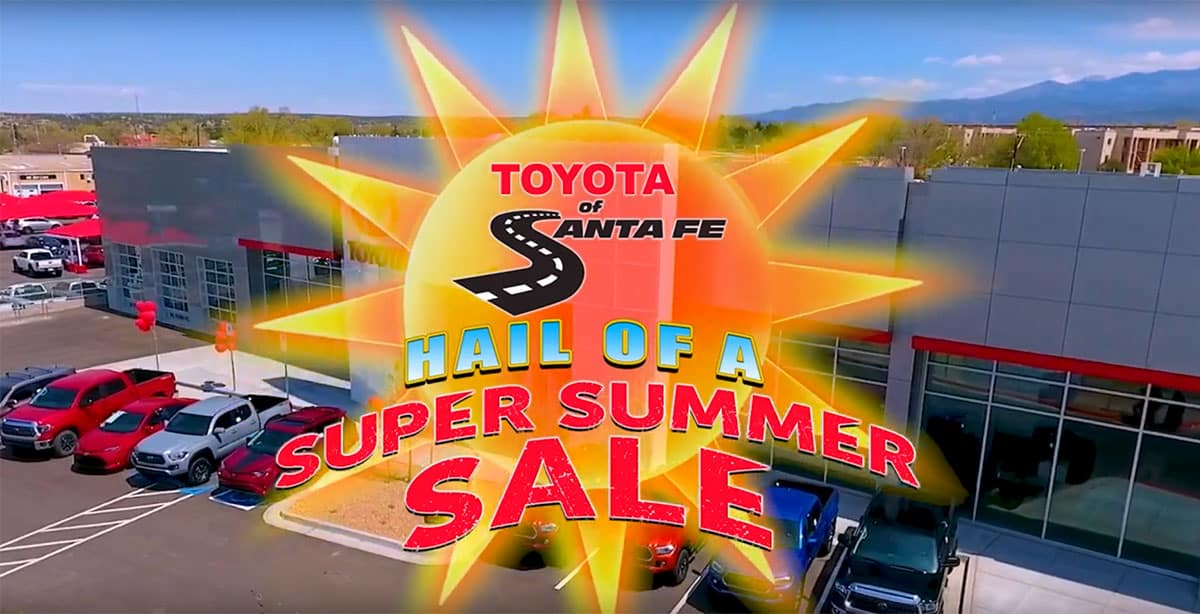 Hail of a Super Summer Sale