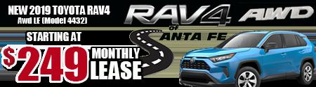AWD RAV4 $249/MONTH