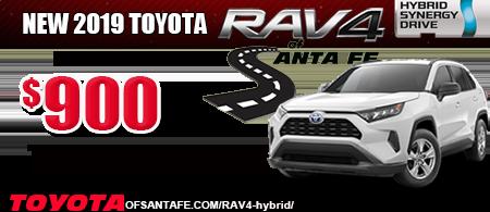 2019 Rav4 Hybrid $900 tfs
