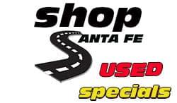 shop santa fe used specials