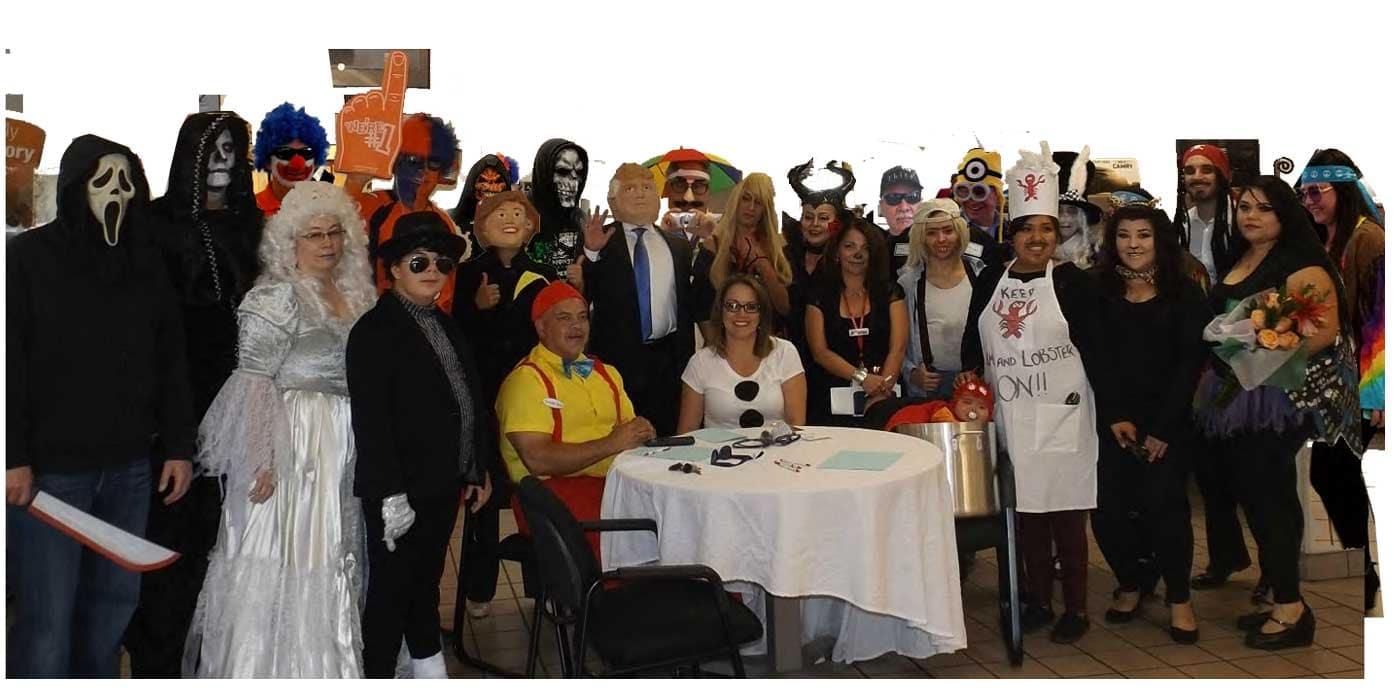 2016 Halloween Contest Participants