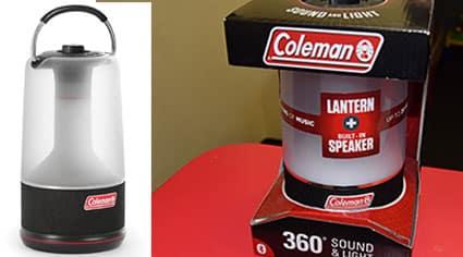 360 Degree Sound and Light Lantern