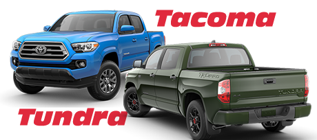 2020 Tacoma and Tundra