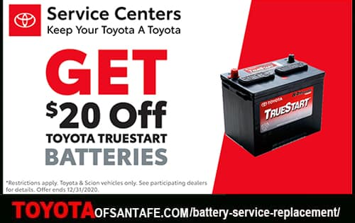 $20 off Batteries