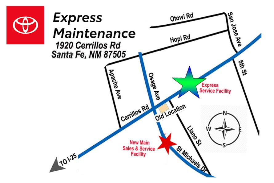 Express maintenance NEW LOGO