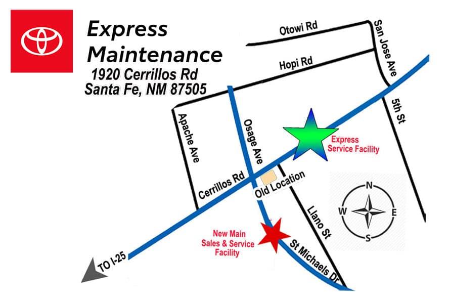 Express maintenance NEW LOGO