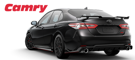 2020 Camry Black Rear