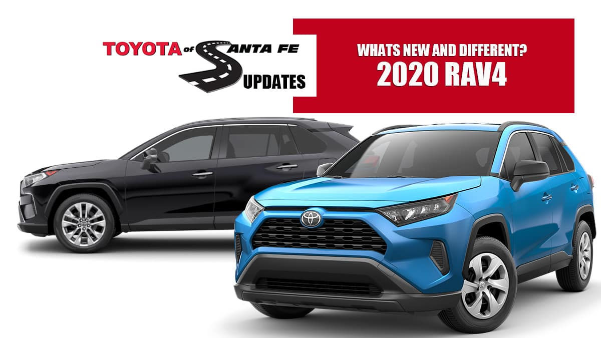 whats new and different on 2020 Rav4