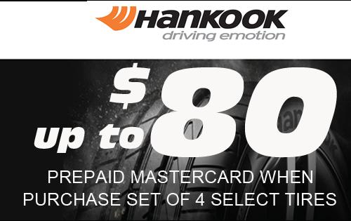 Hankook $80 rebate