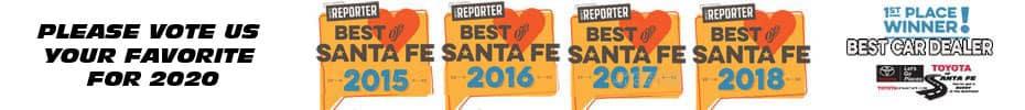 vote 2020 Best of Santa Fe