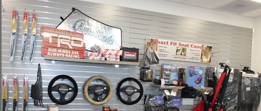 Parts Customer Showroom