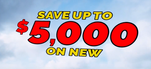 Save $5000 on New SUPER