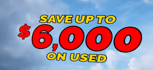 Save up to $6000 on Used