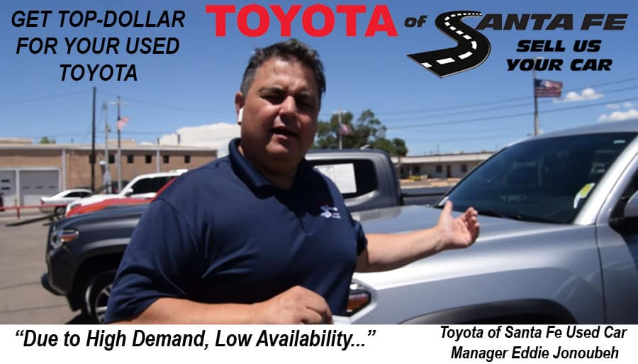 Get Top Dollar for your Used Toyota
