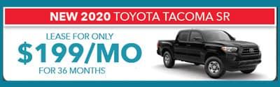 2020 Tacoma SR $199/month