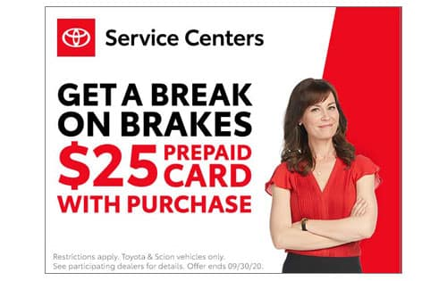 National Brake $25 prepaid card