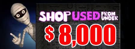 Halloween Shop Used under $8000