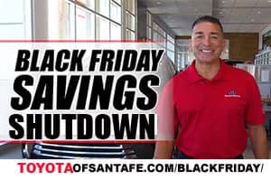 Black Friday Savings Shut Down