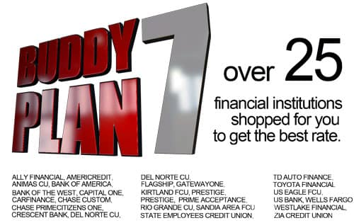 Buddy 7 - over 25 financial institutions