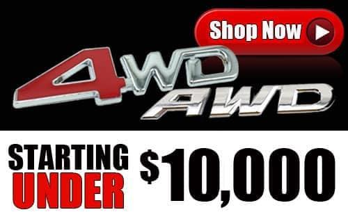 4wd awd under 10k