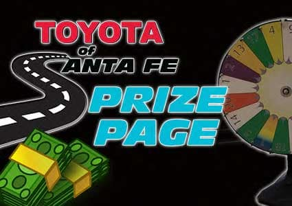 Toyota of Santa Fe Prize Page