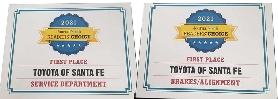 Readers Choice Awards Service and Brrakes Alignment