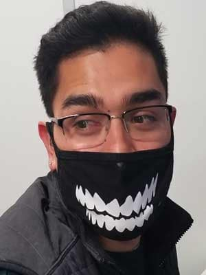 Mask Contest Anthony