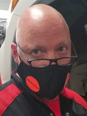 Mask Contest Mechanic Charles